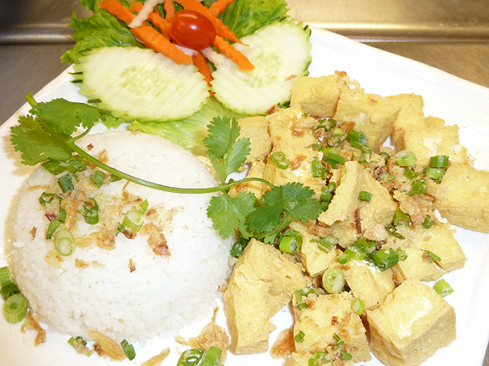 lightly-fried-tofu-rice-plate
